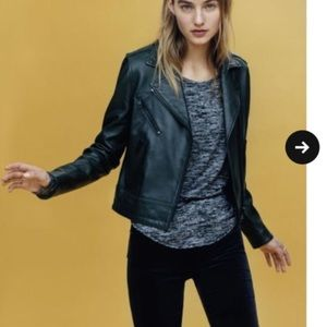 Rag & Bone leather Mercer Jacket XXS